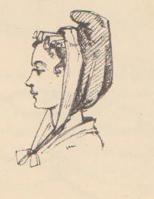 Eighteenth Century Bonnets - historical accessories - hats - caps - headwear - Georgian costume.