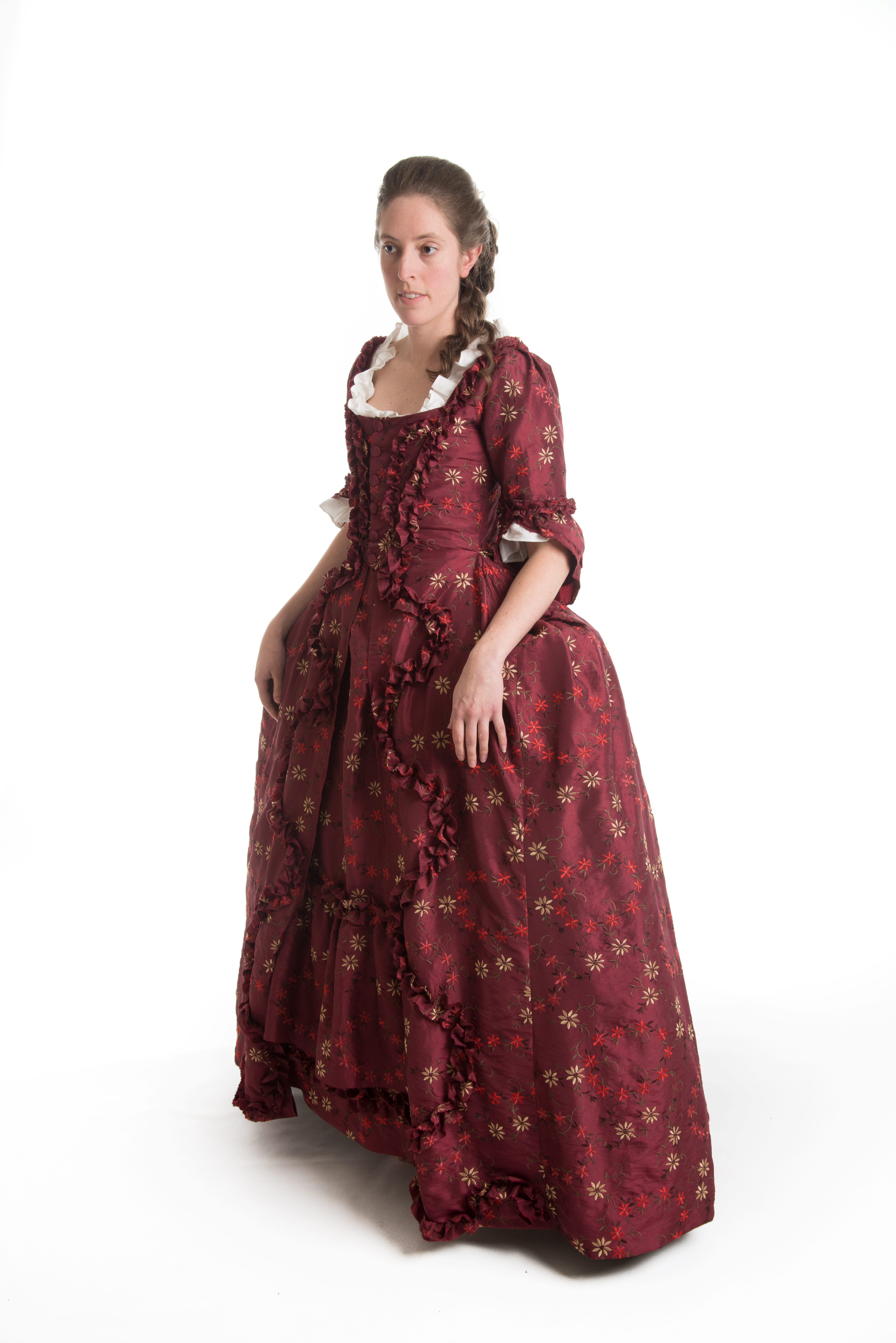 18th c dress, theatre costume for the georgian period