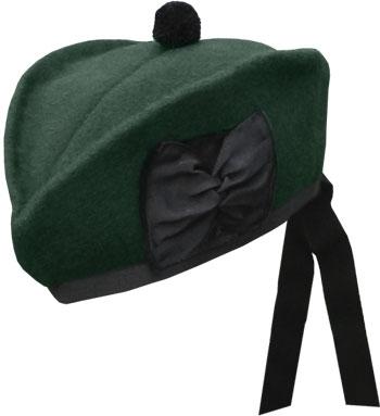 Eighteenth Century Caps - Scotch Cap - Glengarry Hat - 18th century Historical Costume - HandBound