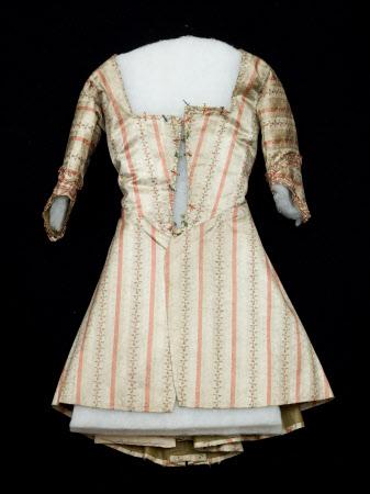caraco - 1780-9 - nat trust inv - HandBound 1348739 - eighteenth century caraco images, pet-en-lair, georgian short jacket, items of clothing in a georgians wardrobe, eighteenth century costume, 1700's costume. made to measure historical garments, bespoke 18th century costumes,