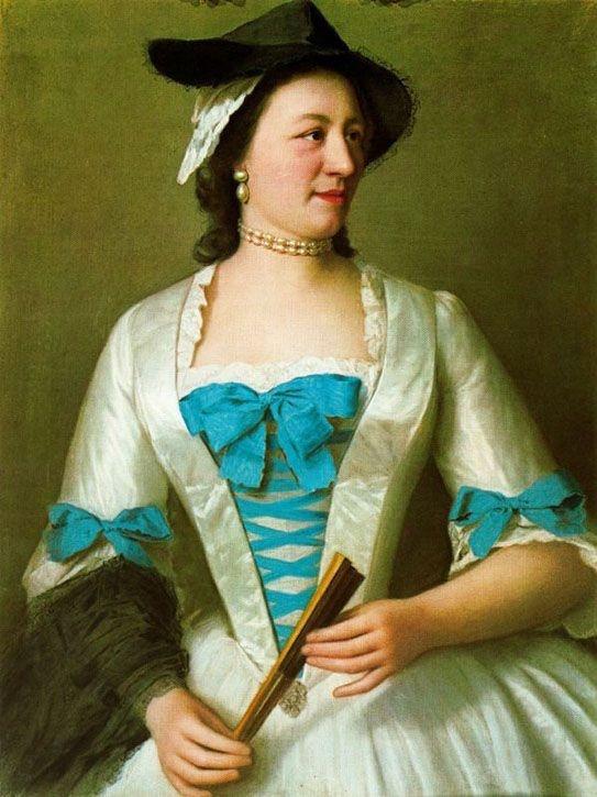 Lady Tyrell 1738 by jean-ettienne liotard - 18th century research - handboundcostumes - 18th century hats or headresse - georgian attire - Historircal fashion accessories
