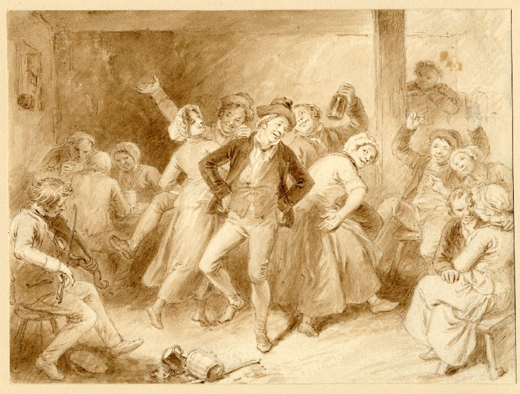 john masey wright - a rustic dance - no date - HandBound Costumes