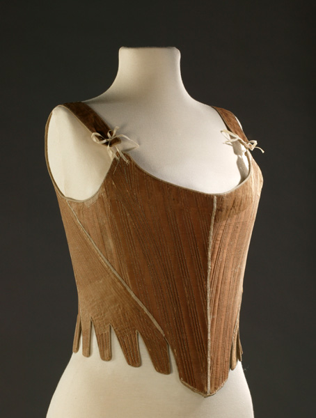 Fully Boned Stays - The origins of the corset - Historical costume - 18th century Clothing - HandBound Costumes - Bespoke Costumes - Marie Antionette clothing - Underwear History