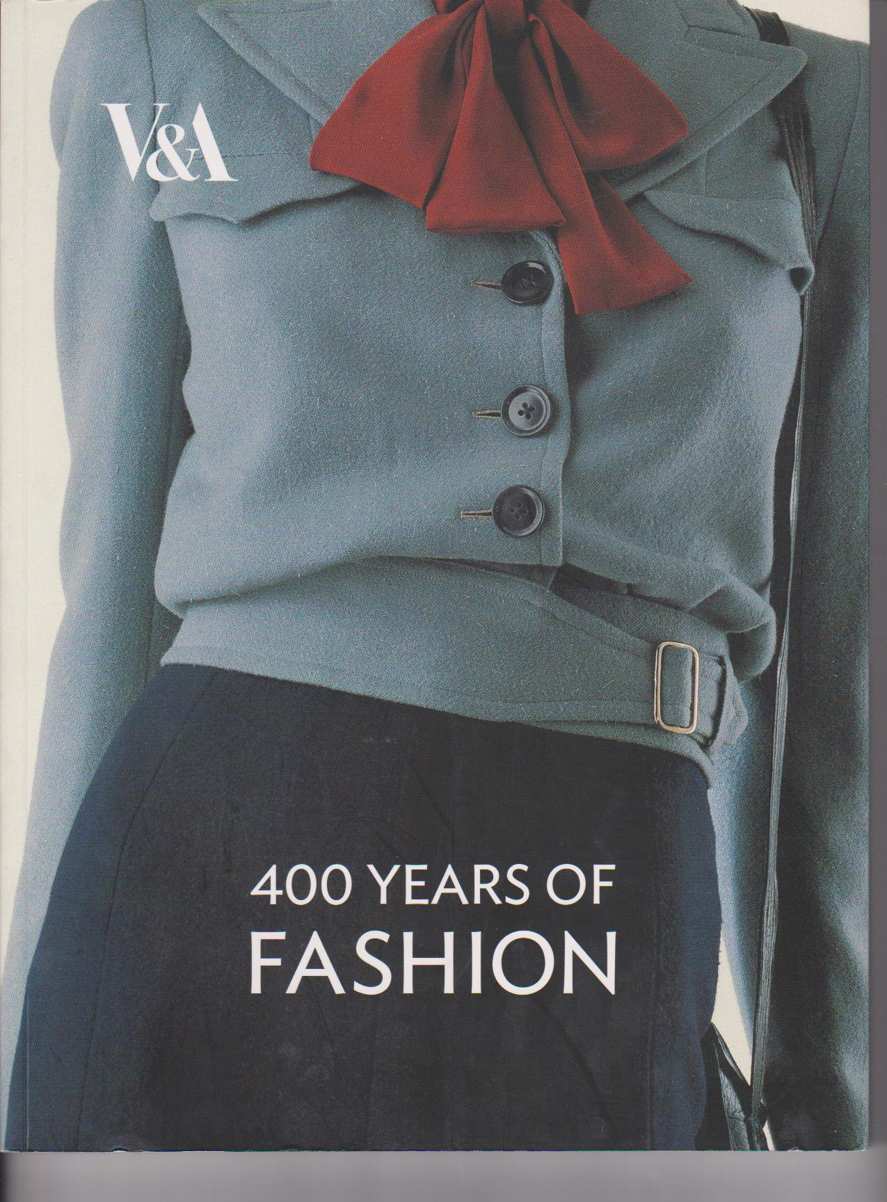 400 Years of Fashion - V&A Book - HandBound Costumes Bibliography - History of Fashion Research - Eighteenth Century Costume - Georgian Attire - 1700's Clothing - 18th Century Costume Bibliography