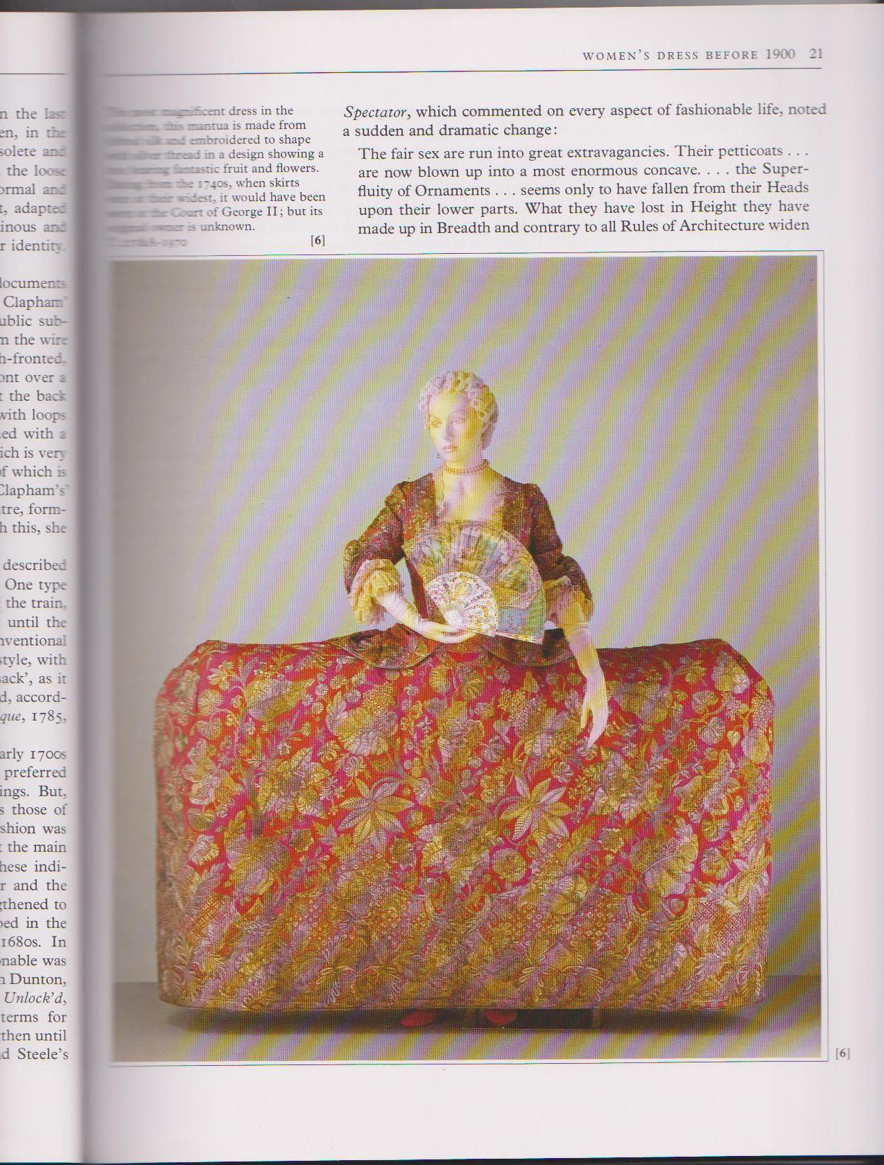 400 Years of Fashion - V&A Book - Inner Page 1 - HandBound Costumes Bibliography
