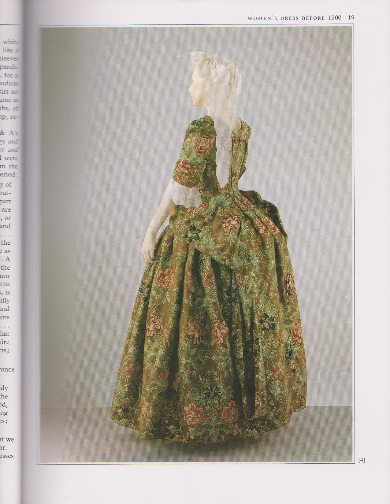 400 Years of Fashion - V&A Book - Inner Page 2 - HandBound Eighteenth Century Costume Bibliography - Eighteenth Century Clothing - Georgian Costume - 1700's costume