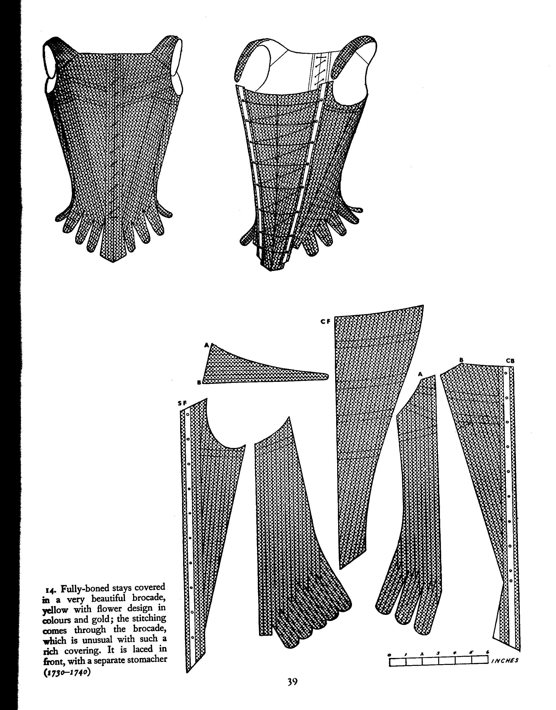 Corset and Crinolines - p39 - HandBound Costumes - Bibliography