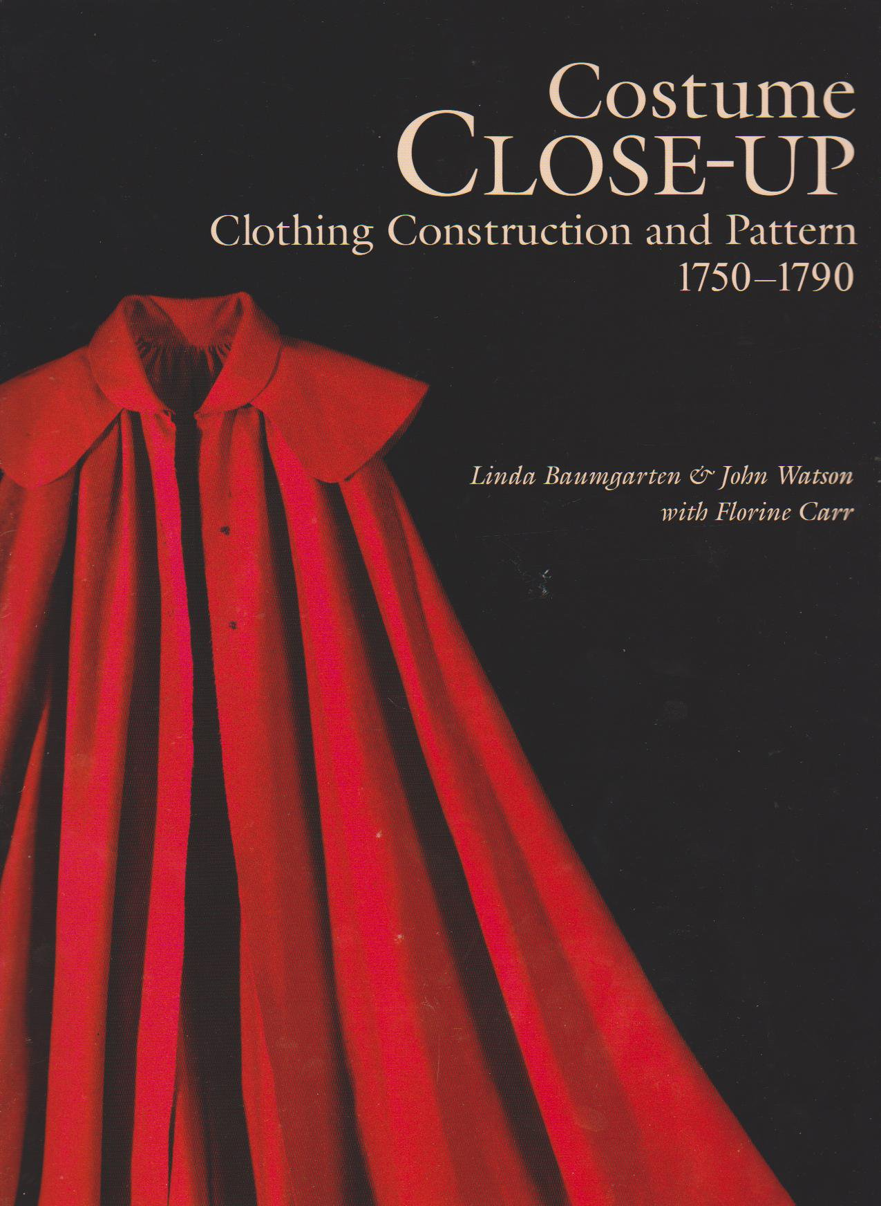 Costume Close Up - L.Baumgarten and J.Watson - Cover - HandBound Bibliography