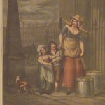 Cries of London - Francis Wheatley - Milkmaid - 1793 -HandBound Research