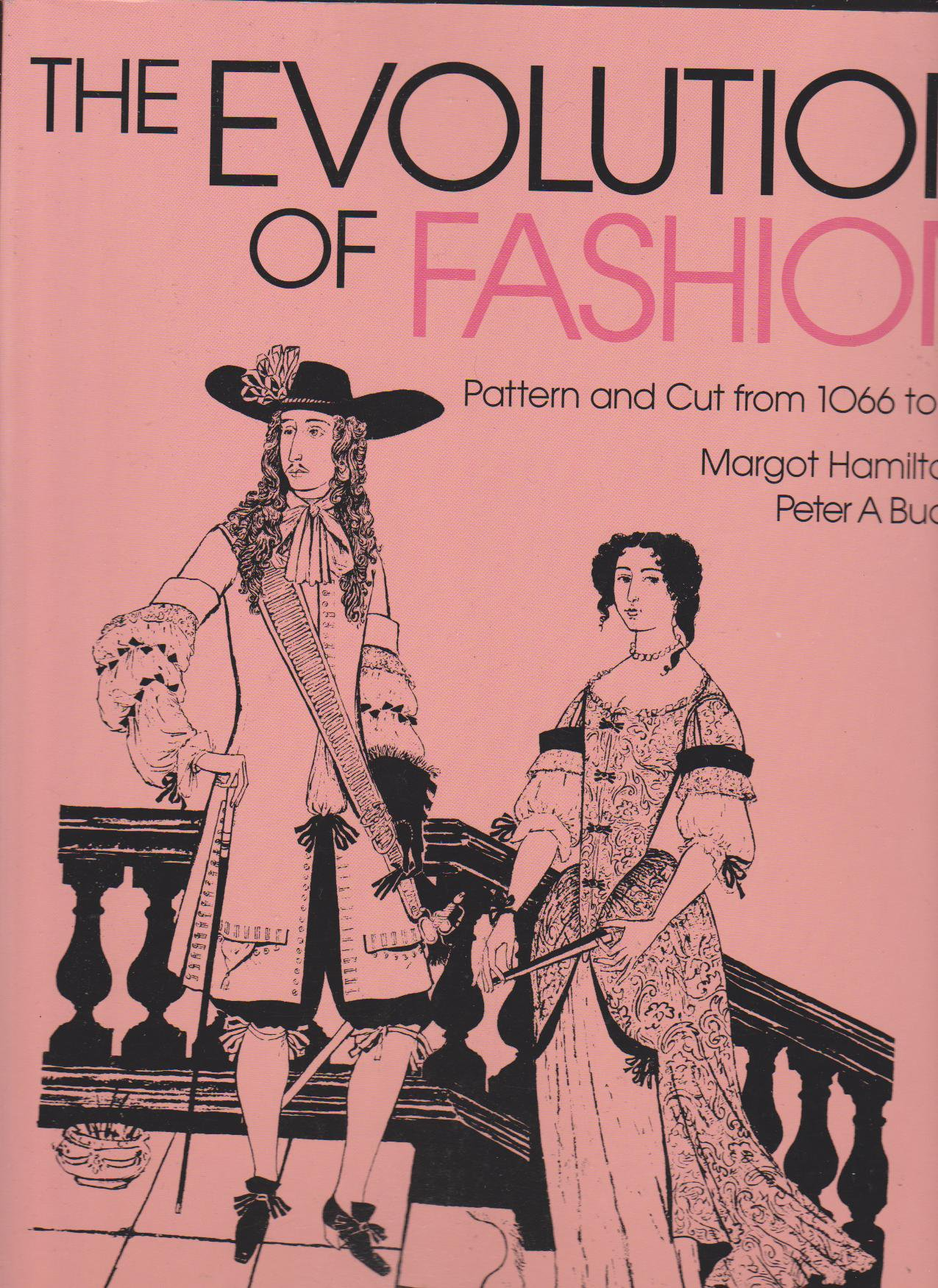 Evolution of Fashion - Hill and Bucknell - HandBound Costumes Bibliography - Historical Costume Research - Georgian Cavendish Duchess of Devonshire - Marie Antionette - Mdm Pompadour - Georgian Costume - Images of Clothing through the ages - Patterns for historical fashion