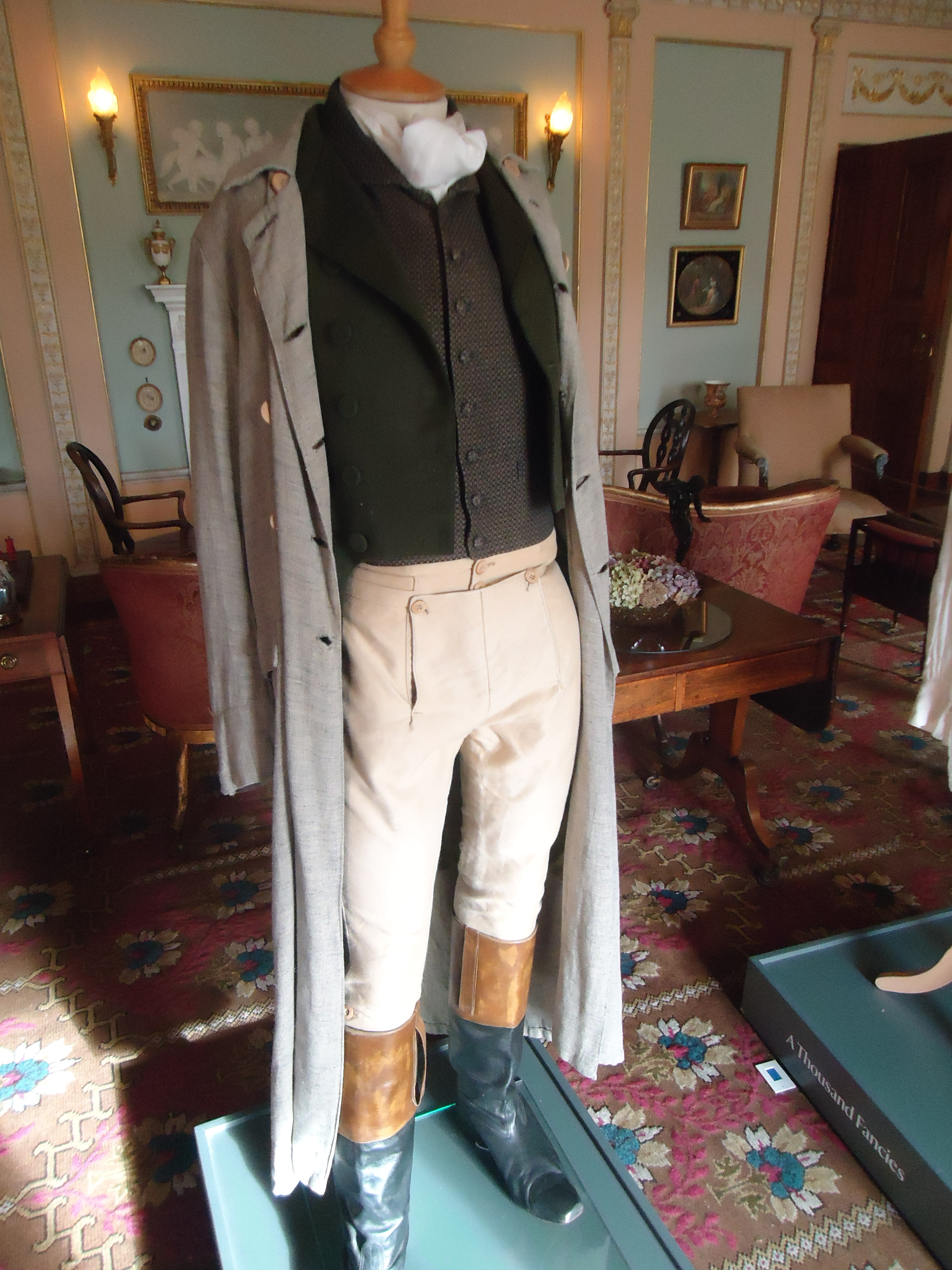 Berrington Hall - HandBound Research, Tv and Period Drama costumes, BBC Pride and Prejudice Costumes - Mr Darcy, Theatrical ~Period Costume. made to measure period clothing and costume, bespoke historical costumes