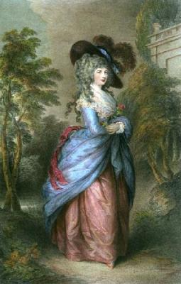 Gainsborough-Duchess-of-Devonshire -handBound costumes