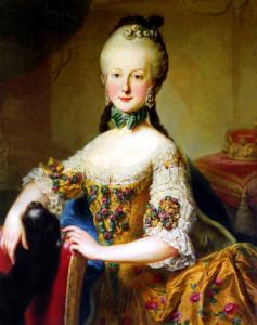 M.E of Austria- atrib to Meytens - c.1760s