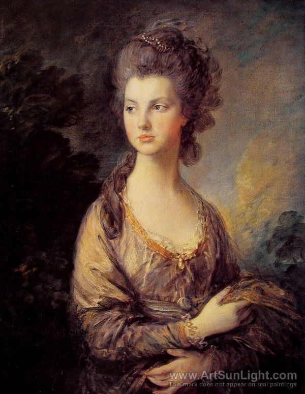 Mrs Graham - Gainsborough - 1775 - HandBound