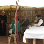 history reenactment workshops on HandBound costumes, a list of the various reenactment groups out there, tudor reenactment groups list