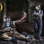 ragged victorians reenactment group, useful links page on HandBound Historical Costumes website, a list of re-enactment groups, contact details for re-enactment groups, historical costume research