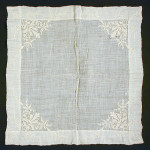 handkerchief - LACMA - c.1780 used for HandBound costumes research, A study on how neck cloths or Fichus or handkerchiefs were worn in the 18th century, historical costume research - a look into georgian costume and how it was worn., historical replica costume, Hand made period clothing, reenactment csotume, bespoke garments form the 18th century, accessories of the 18th century, dress like a georgian