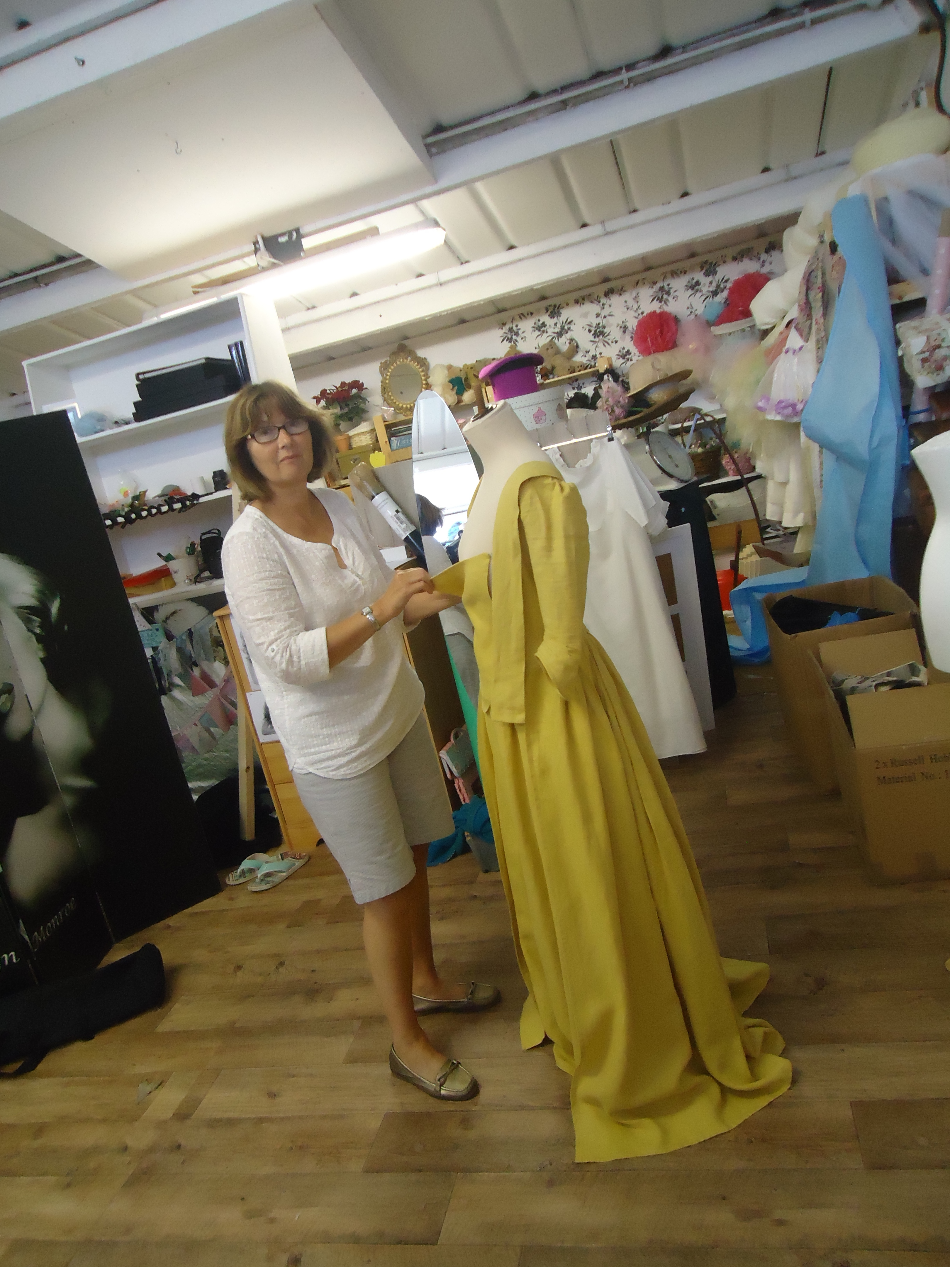 Yellow dress - HandBound costumes