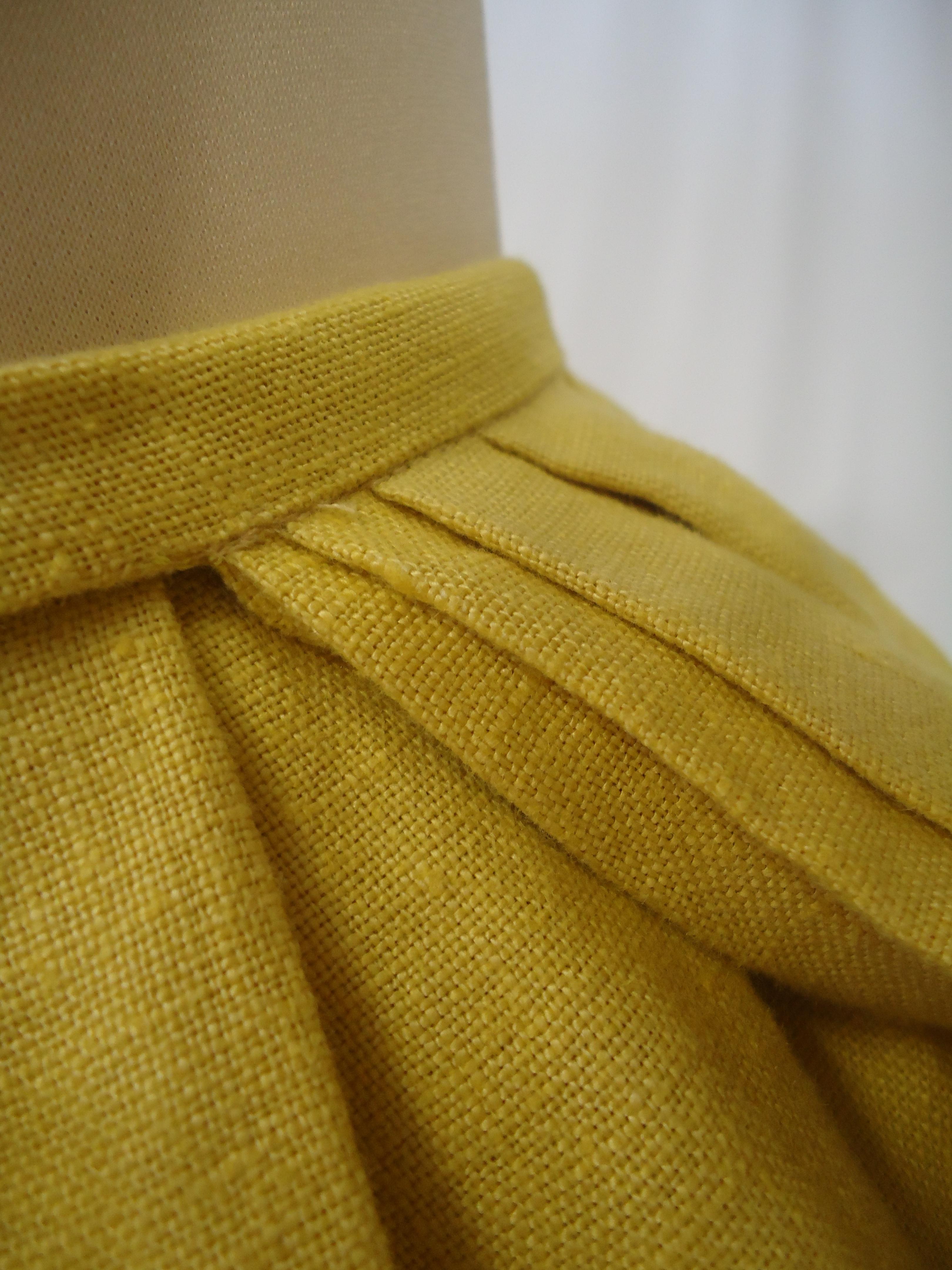 yellow sandby dress - 1750s - HandBound