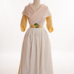 18thc apron and neck cloth by HandBound