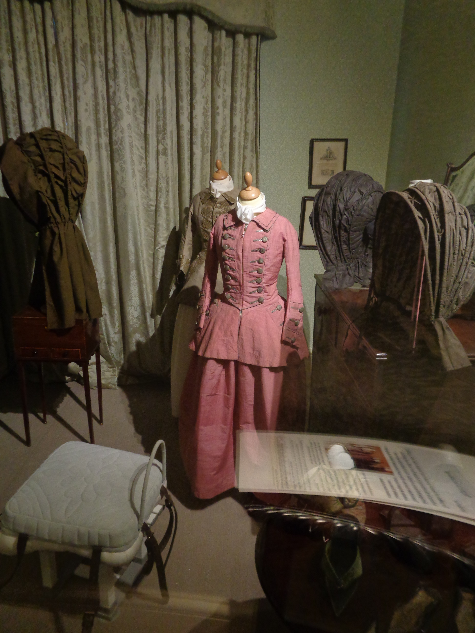Costume collection at Berrington Hall