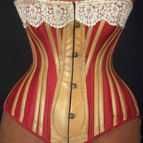 victorian corsets, historical fabrics for victorian corsetry