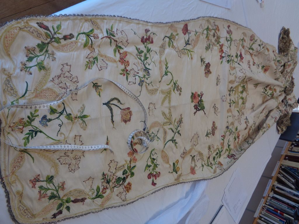 what is a mantua, what is a court mantua, georgian fashion research handbound costumes, the costume rooms in bude - see goergian costume researched and replicated